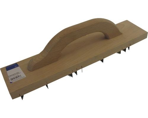 Rabot béton cellulaire Haromac bois de hêtre-0