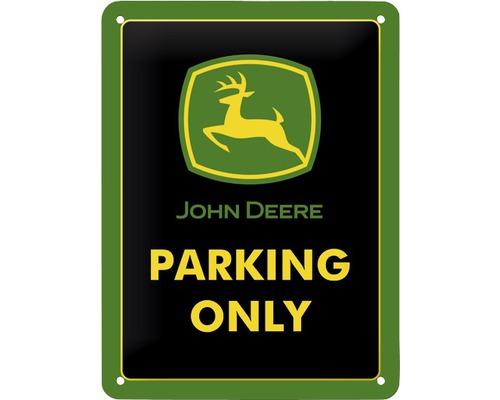 Plaque en tôle John D. Parking 15x20cm