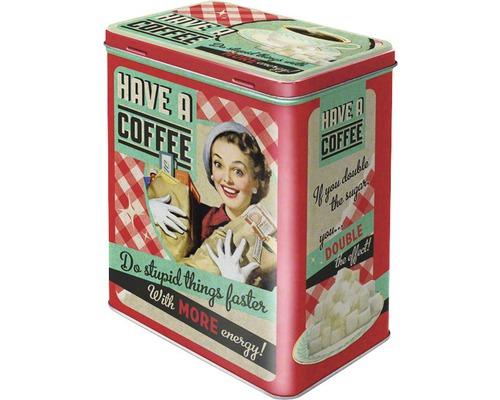 Boîte de rangement L Have A Coffee 3 l