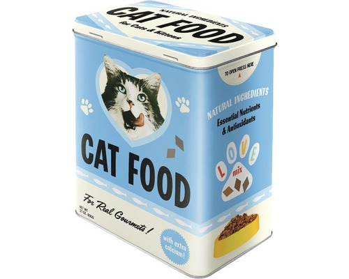 Boîte de rangement L Cat Food Love Mix 3 l