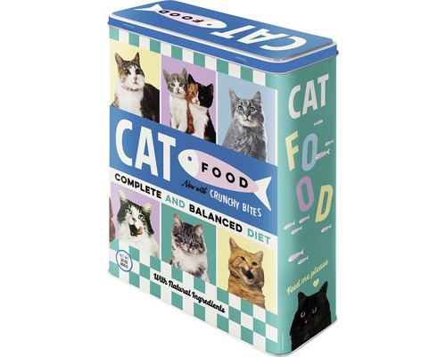 Boîte de rangement XL Cat Food 4 l-0