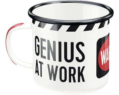 Mug en émail Genius At Work