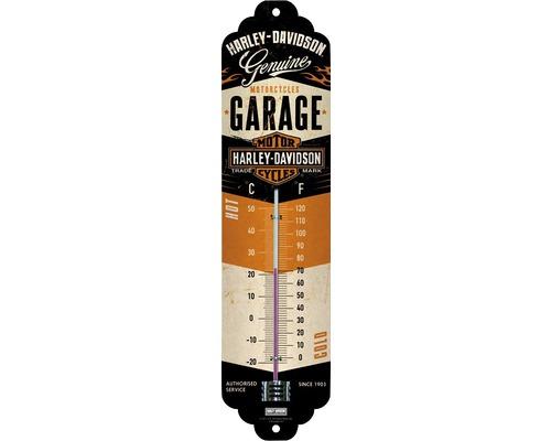 Thermomètre Harley-Davidson Garage 28x6,5 cm