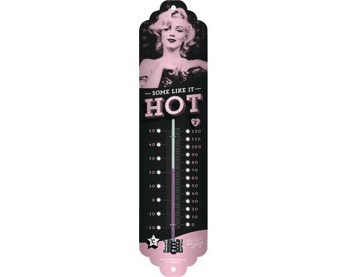 Thermomètre Marilyn 28x6,5 cm