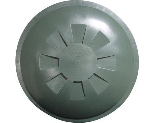 Couvercle pour récupérateur d'eau de pluie GARANTIA rond 310 l, diamètre extérieur 80 cm vert