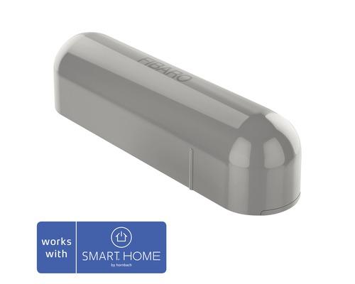 Fibaro Tür- und Fensterkontakt mit Temperatursensor grau - Kompatibel mit SMART HOME by hornbach