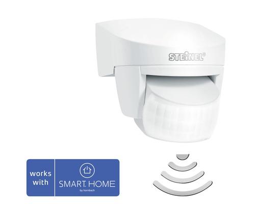 Détecteur de mouvements Steinel IP54 Smart Friend avec fonction de répéteur blanc - compatible avec SMART HOME by HORNBACH