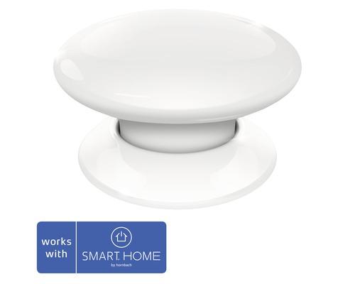 Fibaro Smart Button blanc SMART HOME by hornbach