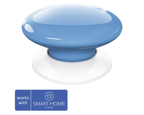 Fibaro Smart Button bleu SMART HOME by hornbach