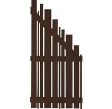 Élément de finition Konsta Various à droite 90x180/90cm marron-thumb-0