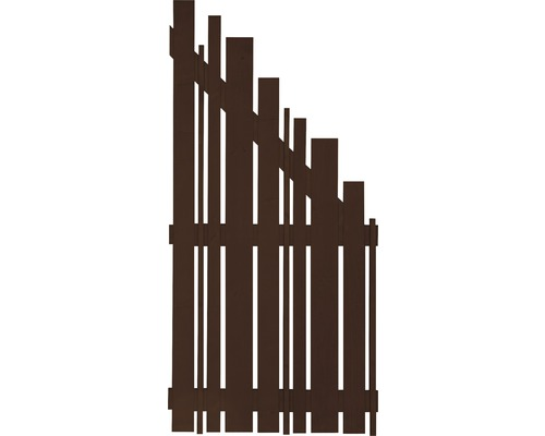 Élément de finition Konsta Various à droite 90x180/90cm marron-0