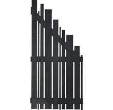 Élément de finition Konsta Various à droite 90x180/90cm anthracite-thumb-0