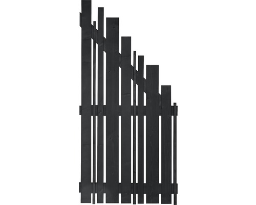 Élément de finition Konsta Various à droite 90x180/90cm anthracite-0