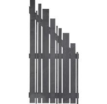 Élément de finition Various à droite 90x180/90cm gris basalte-thumb-0