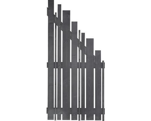 Élément de finition Various à droite 90x180/90cm gris basalte-0