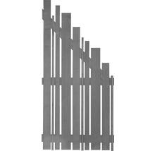 Élément de finition Konsta Various à droite 90x180/90cm gris clair-thumb-0