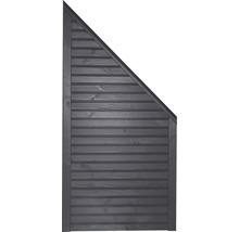 Élément de finition Diamond à droite 90x180/90cm gris basalte-thumb-0
