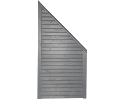 Élément de finition Diamond à droite 90x180/90cm gris clair-0