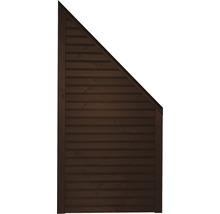 Élément de finition Diamond à droite 90x180/90cm marron-thumb-0