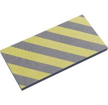 Protection en mousse 50x25cm jaune-noir-thumb-1