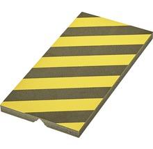Protection en mousse 50x25cm jaune-noir-thumb-0