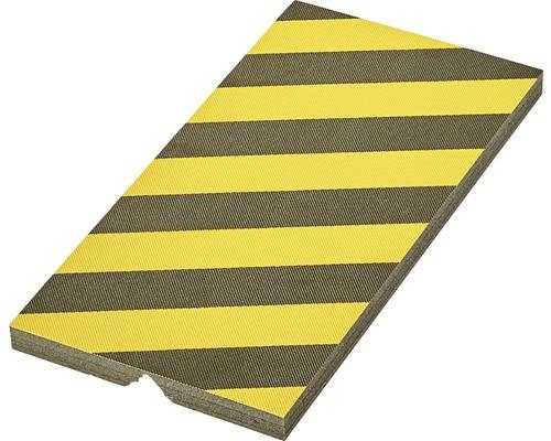Protection en mousse 50x25cm jaune-noir-0