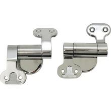 Charnières de rechange pour abattant WC en métal-thumb-0