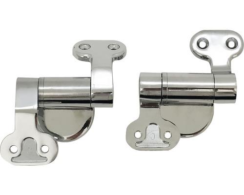 Charnières de rechange pour abattant WC en métal-0