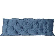 Galette de chaise Velvet gris bleu 120x40 cm-thumb-0