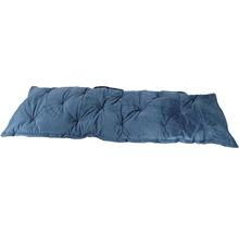 Galette de chaise Velvet gris bleu 120x40 cm-thumb-1