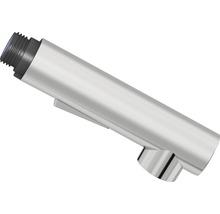 Douchette de vaisselle 2 jets cylindrique haute pression chrome adaptée à Sitka-thumb-0