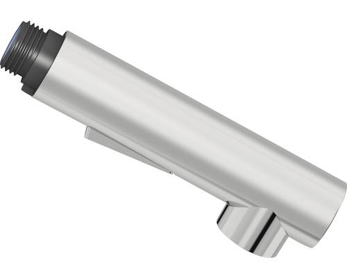 Douchette de vaisselle 2 jets cylindrique haute pression chrome adaptée à Sitka-0
