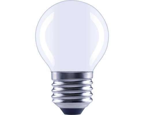 Ampoule sphérique LED à intensité lumineuse variable E27/5,5W(40W) 470 lm 4000 K blanc neutre G45 mat > 90 CRI (Ra)-0