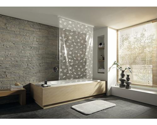 Store de douche pour cassette Kleine Wolke 128x240 blanc neige 114