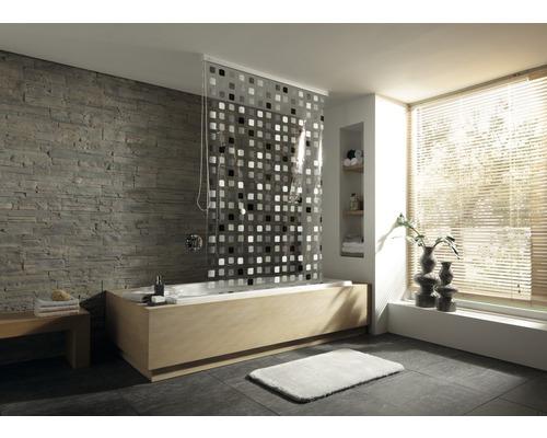 Store de douche pour cassette Kleine Wolke 128x240 gris 110-0
