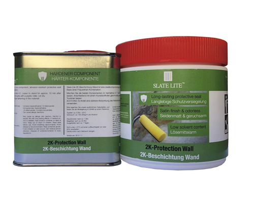 Vitrification bicomposant Slate Lite mur 625ml pour zone humide-0
