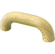 Poignée de meuble pin brut distance entre les trous 64 mm, Lxlxh 80/33/16 mm, 1 pièce-thumb-0