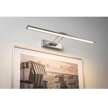 Éclairage pour tableaux LED 1x11W 1050 lm 2700 K blanc chaud Beam Sixty chrome l 585 mm-thumb-0
