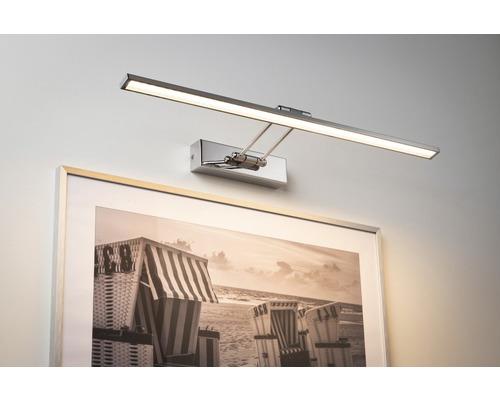 Éclairage pour tableaux LED 1x11W 1050 lm 2700 K blanc chaud Beam Sixty chrome l 585 mm-0