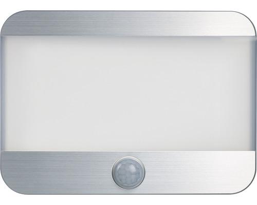 Lampe LED PIR à capteur carré 25lm 4000K blanc neutre à piles détecteur de mouvements Gizmo blanc