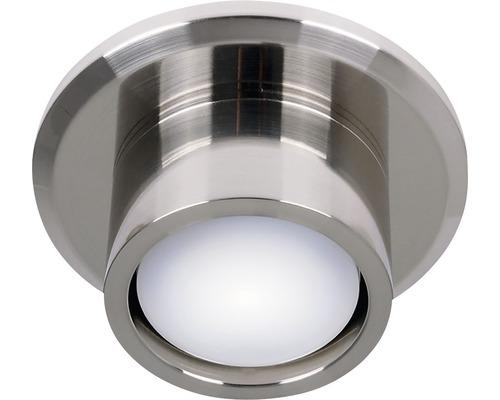 Kit d''éclairage LED Lucci acier inoxydable GX53 4,8W 510 lm 4000 K blanc neutre