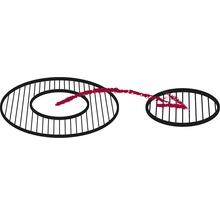 Insert de grille en fonte Tepro pour système grille dans grille Ø 57cm-thumb-4
