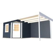 Abri de jardin Designhaus 213 B+ weka taille 1 dimension de passage élevée 195 cm, avec plancher et toit en appentis 533 x 238 cm anthracite-thumb-1