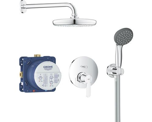Unterputz Duschsystem GROHE Get 25220001 mit Vitalio Start 210 chrom