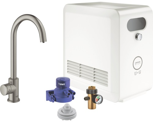 Robinet de lave-mains GROHE Grohe Blue Professional 31302DC2 supersteel