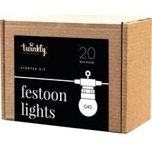Kit de démarrage de guirlande lumineuse Twinkly avec 20 LED 10m multicolore-thumb-2