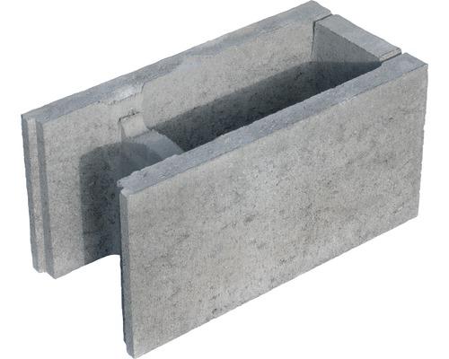 Bloc à bancher finition gris 50x25x24cm