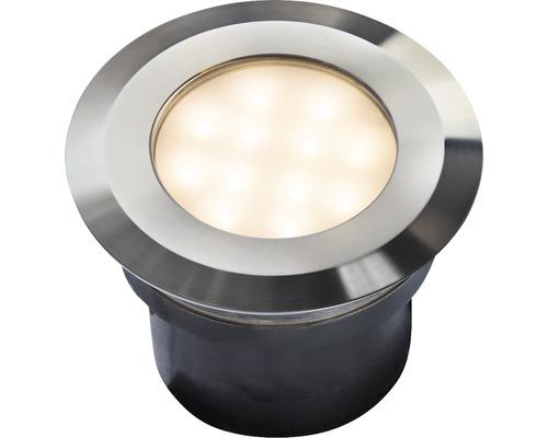 Éclairage à encastrer LED IP67 2W 85lm 3000-6000K commutable blanc chaud/blanc lumière du jourKos acier inoxydable Season Lights