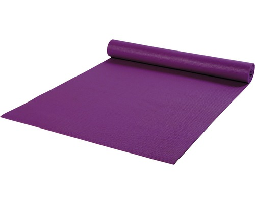 Weichschaummatte Yogamatte lila 60x180 cm
