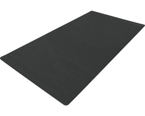 Protège-sol noir 90x200 cm
